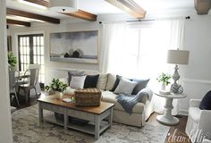 Dear Lillie: Updated Family Room