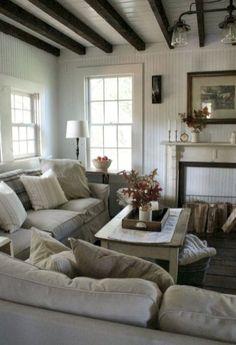 Rustic Farmhouse Living Room Decor Ideas (45)