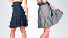 Ribbon Belt, Black Ribbon, Reversible Dress, Inside Out, Midi Skirt, Two By Two, Teal, Dresses For Work, Turning