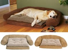 An orthopedic foam base provides relief for achy joints on older pets, ultimately making their sleep that much more enjoyable.