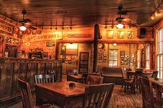 Gruene Hall Western Saloon Dance Hall by ScarolaPhotography Western Saloon, Western Bar, Texas Western, Hall Interior, Restaurant Interior Design, Modern Restaurant, Western Restaurant, American Restaurant, Saloon Decor