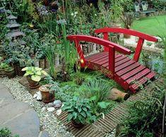 Japanese Garden Backyard, Japanese Garden Landscape, Small Japanese Garden, Garden Pond Design, Garden Paths, Small Gardens, Outdoor Gardens, Small Yard Landscaping, Garden Structures