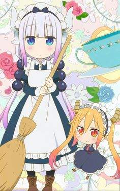 Maid kanna kawaii!!!!!