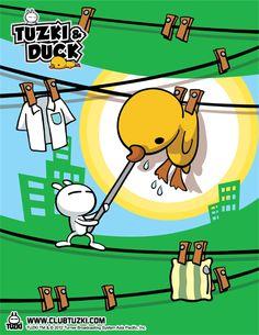 Tuzki & Duck: Design #3