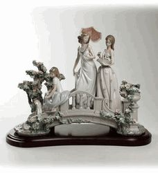 Lladro 01879 Bridge of dreams (L.E.)