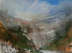 Katharine Holmes - portfolio - paintings - limestone