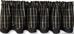 Blackstone Lined Layered Curtain Valance