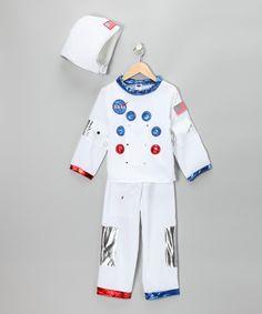White NASA Astronaut Dress-Up Set - Toddler & Kids