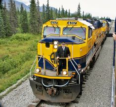 Alaska Railroad, Locomotive, Photos, Trains, America, Pictures
