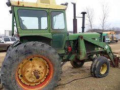 John Deere 4620 tractor salvaged for used parts. This unit is available at All States Ag Parts in Downing, WI. Call 877-530-1010 parts. Unit ID#: EQ-23948. The photo depicts the equipment in the condition it arrived at our salvage yard. Parts shown may or may not still be available. http://www.TractorPartsASAP.com