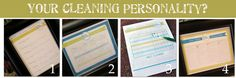 4 free printable cleanings schedules made into checklists that you can quickly print out to make life just a little easier.  So decide on a cleaning system that works with your personality and your busy life.  It's easier than you'd thin