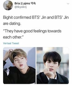 Seriously Kai and Jennie being outed for dating is giving us some of the best memes The post Seriously Kai and Jennie being outed for& appeared first on Kpop Memes. Seokjin, Hoseok, Namjoon, Taehyung, Park Ji Min, Jung Kook, K Pop, Bts Jin, Jimin
