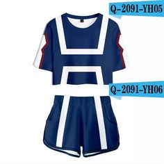 My Hero Academia Hot Anime Cool Midriff T-shorts Sexy Club Suit Vrouwen Summer Excellent Quality Hip-hop Short T-shirts Men Cosplay Outfits, Anime Outfits, Cosplay Costumes, Cool Outfits, Casual Outfits, Fashion Outfits, My Hero Academia Merchandise, Anime Inspired Outfits, Future Clothes