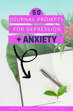 Mental health journal prompts for depression and anxiety can help reduce stress, develop self-awareness, and find clarity during hard times in your life. Check out these 50 journaling prompts to get started on your personal growth journey today. Depression Recovery, Coping With Depression, Depression Help, Depression Symptoms, Health Anxiety, Anxiety Tips, Anxiety Help, Calming Anxiety, Understanding Depression