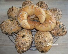 101_2425_2 Garlic Bread, Bagel, Food, Essen, Meals, Yemek, Eten