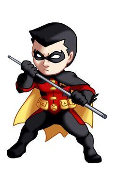 Chibi YJ Robin III Tim Drake by TwinEnigma.deviantart.com on @deviantART
