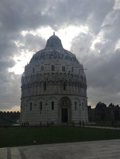 The baptistery in Pisa - by TravEllenineurope.com