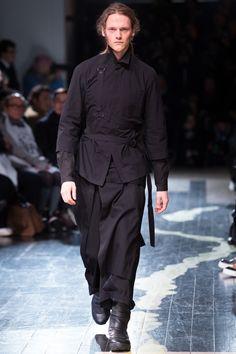 Visions of the Future // Yohji Yamamoto Fall 2016 Menswear Fashion Show