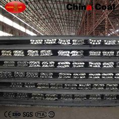 50kg Heavy Rails 50kg heavy rails Product Introduction 50kg Heavy Rail Specification(KGS/M): 50Kg Materials: U71Mn, U71, 45Mn Length:12m or 12.5m