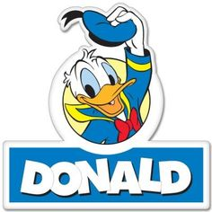 Donald Duck hello sticker decal x Donald Disney, Disney Duck, Walt Disney, Disney Best Friends, Mickey Mouse And Friends, Disney Family, Donald And Daisy Duck, Donald Duck Party, Disney Clipart