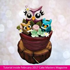 **OUT NOW** In our latest issue of Cake Masters Magazine #Cookies #cupcakes #cakepops click this link to buy now >> http://www.cakemasters.co.uk/product/february-2017-issue/ Tutorial made by CUPCAKES & DREAMS #cupcakes #cakemasters #cakedecorating #sugarcraft — with Modhvadiya Ram and victoria Diaz.