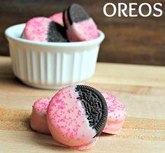 So Simple!! Pink Chocolate Berry Oreos Recipe