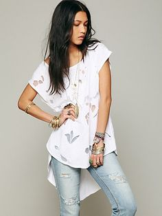 Free People FP New Romantics High Noon Tee at Free People Clothing Boutique