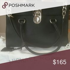 bag black with silver hardware great shape beautiful bag. note this bag is still selling in stores now. MICHAEL Michael Kors Bags Shoulder Bags