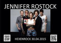 Hexenrock 2015 mit Jennifer Rostock !!!