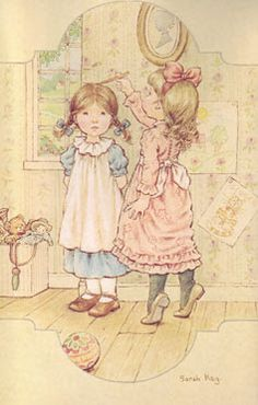 MARINITA ENTRE HILOS Y AGUJAS: SARA KAY ALBUM- IMAGENES Sarah Key, Holly Hobbie, Cute Images, Cute Pictures, Mary May, Vintage Drawing, Sweet Pic, Creative Pictures, Cute Illustration