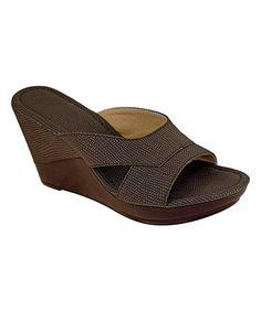 Chocolate Polo Sandal