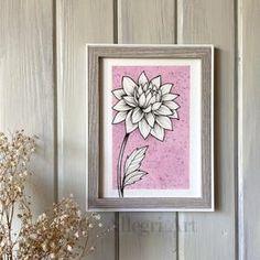 Canvas Paintings, Original Paintings, Doodle Art Designs, Line Flower, Oil Pastel Drawings, Gold Watercolor, Art Corner, Painting Gallery, Floral Illustrations