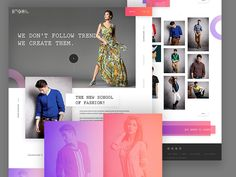 Hey Awesome Designers,     I've tried to design something as simple as possible and make a Fashion E-Commerce Home Page. Here's the result, Now you be the judge :) Don't forget to check the attachmen...