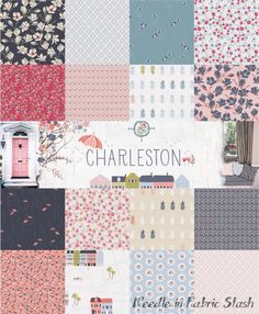PRE ORDER (ships free in U.S.) - Charleston Full Fabric Collection - Amy Sinibaldi - Art Gallery Fabrics - 16 Fat Quarters or 16 Half Yards