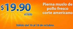 Chedraui Ofertas de Carnes del 16 al 18 de Octubre