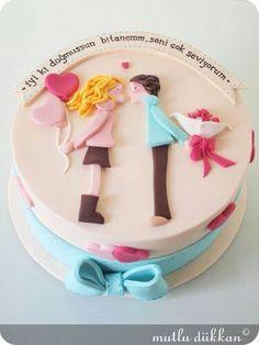 Valentine day Cake ♡