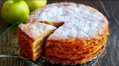 """The Simplest Apple Pie """"Three Cups"""" Amazingly Tasty Easy Baking Recipes, Sweets Recipes, Apple Recipes, Healthy Baking, No Bake Desserts, Easy Desserts, Cooking Recipes, Baking Soda And Lemon, Baking Soda Uses"""