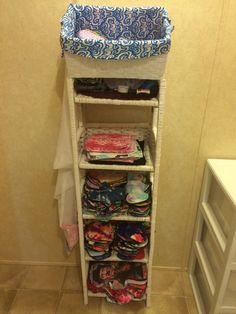 #reusablegoals My pad storage unit