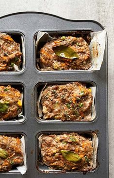 Recipe: Jeni Pearce's Mini Meatloaves - thisNZlife Vegan Recipes, Cooking Recipes, Winter Vegetables, Frozen Peas, Portion Control, Meatloaf Recipes, Vegan Butter, Winter Food, Raw Vegan