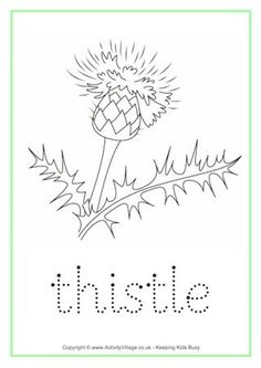 Trace the word and colour in the picture - a fun worksheet to print out and fill in for your Scotland theme, perhaps! Tracing Worksheets, Worksheets For Kids, Learning Time, Kids Learning, Burns Night Crafts, Traditional Scottish Food, Scotland Map, Charts For Kids, Bullet Journal Inspiration