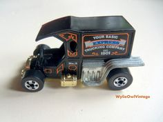 Vintage Hot Wheels T Totaller Car 1976 by WylieOwlVintage on Etsy, $8.50