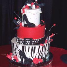 Diva party diva birthday cake Mango Event Stylists Cakes