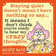Aunty Acid for 7/13/2017