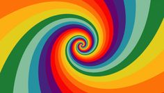 Another rainbow swirly Art Optical, Optical Illusions, Gif Animé, Animated Gif, Fractal Art, Fractals, Have A Nice Trip, Gifs, Animation