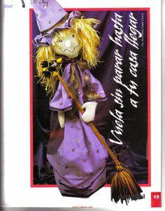 como hacer muñecas para halloween