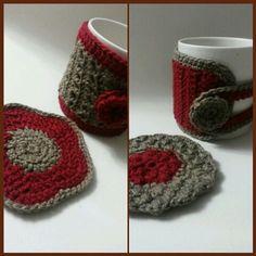 Mug warmer ,cozy  Egyptian material
