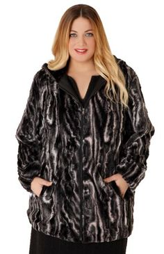 Women's coats Parabita Winter 2016 plus size xxl