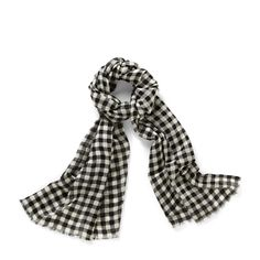 Gingham Scarf LWS1191 | ®