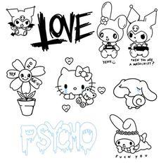 Cute Tiny Tattoos, Dope Tattoos, Anime Tattoos, Mini Tattoos, Body Art Tattoos, Sketch Tattoo Design, Tattoo Sketches, Tattoo Drawings, Tattoo Designs