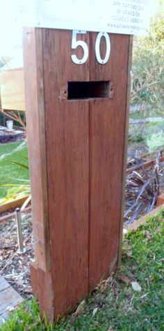 wooden letterbox australia - Google Search